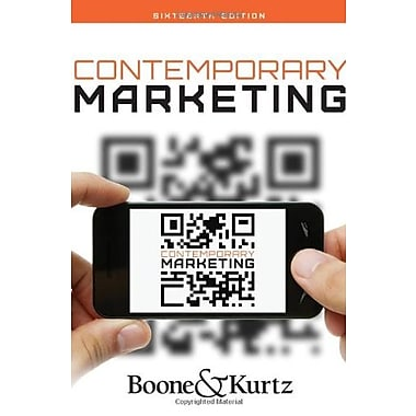Contemporary Marketing, (9781133628460)