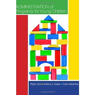 Administration of Programs for Young Children, Used Book (9781133938989)