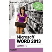 Microsoft Word 2013: Complete (Shelly Cashman), Used Book (9781285167725)
