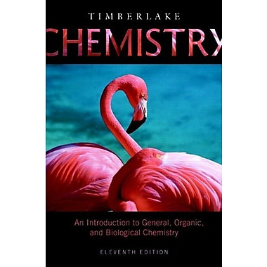 Chemistry: An Introduction to General, Organic, and Biological Chemistry, New Book (9780321741042)