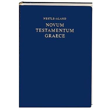 Nestle-Aland Novum Testamentum Graece (Greek Edition), New Book (9781598561722)