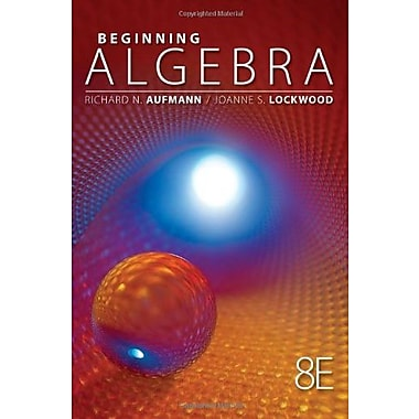 Beginning Algebra, 8th Edition (Textbooks Available with Cengage Youbook), (9781111578701)
