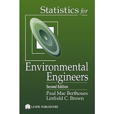 Statistics for Environmental Engineers, Second Edition, New Book (9781566705929)