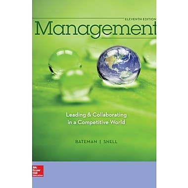 Management: Leading & Collaborating in the Competitive World with Connect Plus, New Book (9781259282546)