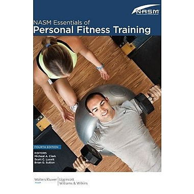 NASM Essentials of Personal Fitness Training, New Book (9781608312818)