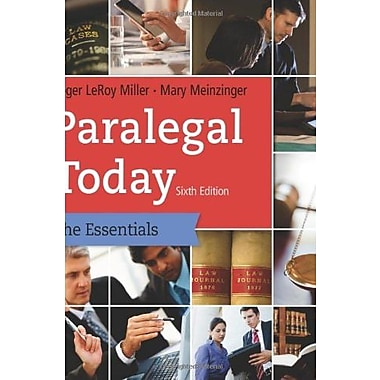 Paralegal Today: The Essentials, Used Book (9781133935629)