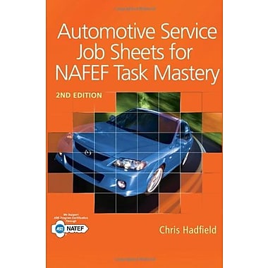 Automotive Service Job Sheets for NATEF Task Mastery, New Book (9781111137984)