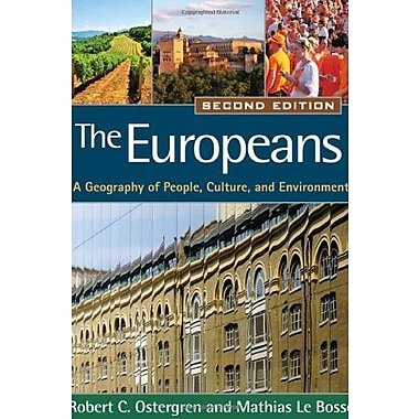 The Europeans: A Geography of People, Culture, & Environment (Texts in Regional Geography), (9781609181406)