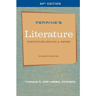 Perrine's Literature: Structure, Sound & Sense (AP Edition), New Book (9781111351526)