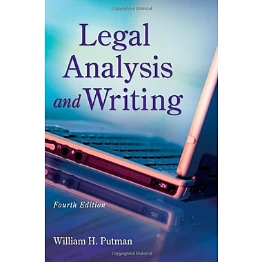 Legal Analysis and Writing, New Book (9781133016540)