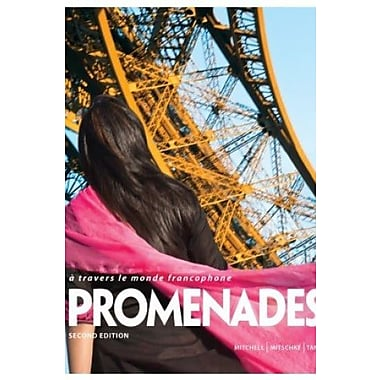 Promenades, 2nd Edition Student Edition w/ Supersite PLUS and webSAM Code (9781618571007)