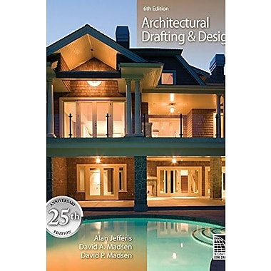 Architectural Drafting and Design (Book Only), New Book (9781111321789)