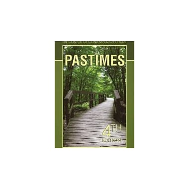 Pastimes: The Context of Contemporary Leisure (9781571675453)