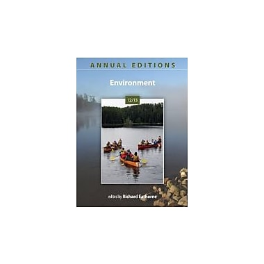 Annual Editions: Environment 12/13, Used Book (9780073515618)