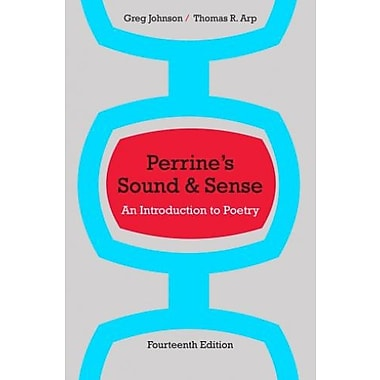 Perrine's Sound & Sense: An Introduction to Poetry, New Book (9781133307242)