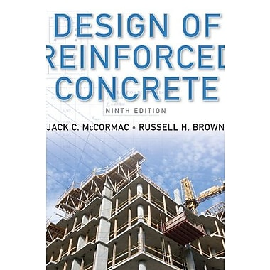 Design of Reinforced Concrete, New Book (9781118129845)