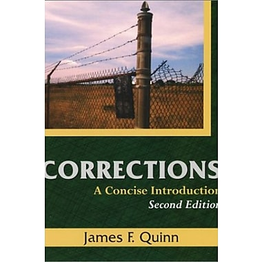 Corrections: A Concise Introduction, Used Book (9781577662464)