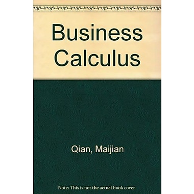 Business Calculus, New Book (9781465206336)
