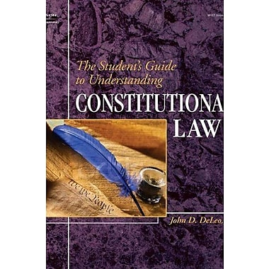 The Student's Guide to Understanding Constitutional Law, New Book (9781401852399)