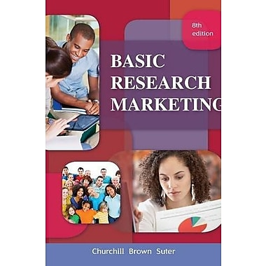 Basic Marketing Research (Book Only), New Book (9781111525293)