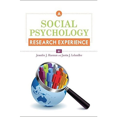 A Social Psychology Research Experience, New Book (9781609271336)