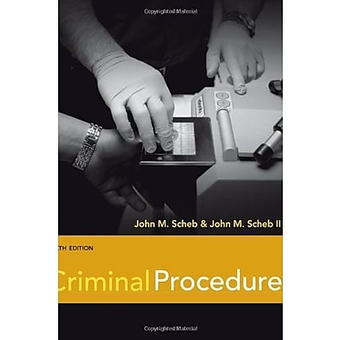Criminal Procedure, New Book (9781111346973)