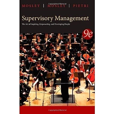 Supervisory Management, (9781285063003)