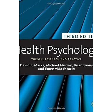 Health Psychology: Theory, Research and Practice, New Book (9781848606210)