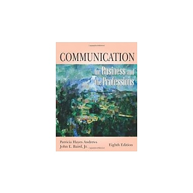 Communication for Business and the Professions, New Book (9781577663799)