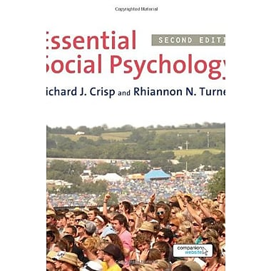 Essential Social Psychology, New Book (9781849203869)
