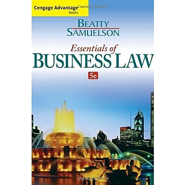Cengage Advantage Books: Essentials of Business Law, Used Book (9781285427003)