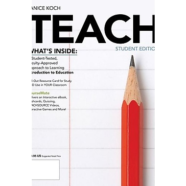 TEACH 2 (with CourseMate Printed Access Card), New Book (9781133963394)