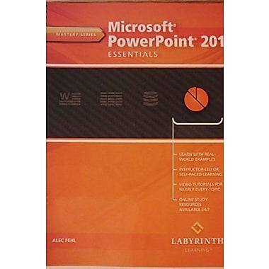 Microsoft PowerPoint 2013 Essentials (Mastery Series), New Book (9781591364849)