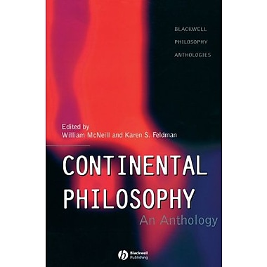 Continental Philosophy: An Anthology, New Book (9781557865618)