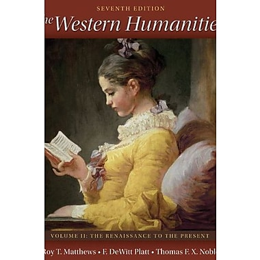The Western Humanities Volume 2, New Book (9780077338459)