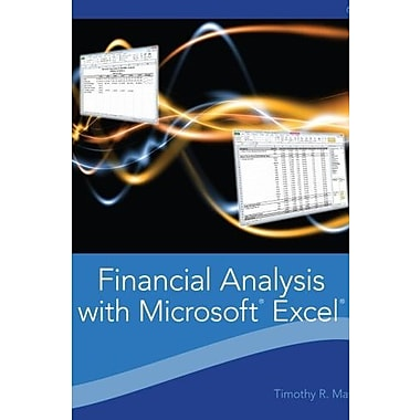 Financial Analysis with Microsoft Excel (9781111826246)