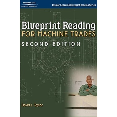 Blueprint Reading for Machine Trades (Delmar Learning Blueprint Reading), New Book (9781401899981)