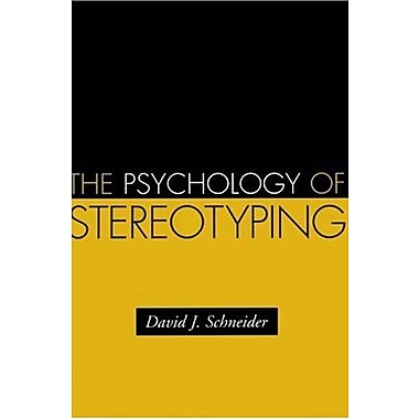 The Psychology of Stereotyping (Distinguished Contributions in Psychology), New Book (9781593851934)