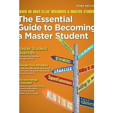 The Essential Guide to Becoming a Master Student (Textbook-Specific Csfi), New Book (9781285080994)