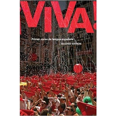Viva 2nd Edition - Student Edition, Supersite Code and Workbook/Video manual, New Book (9781605763972)