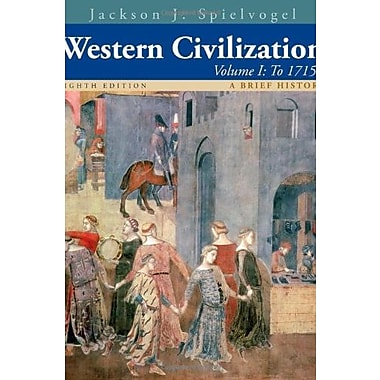 Western Civilization: A Brief History, Volume I: To 1715, New Book (9781133607922)
