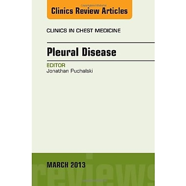 Pleural Disease, An Issue of Clinics in Chest Medicine, 1e (The Clinics: Internal Medicine), (9781455770731)