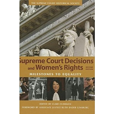 Supreme Court Decisions and Womens Rights, Used Book (9781608714063)