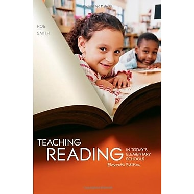 Teaching Reading in Today's Elementary Schools, New Book (9781111298128)