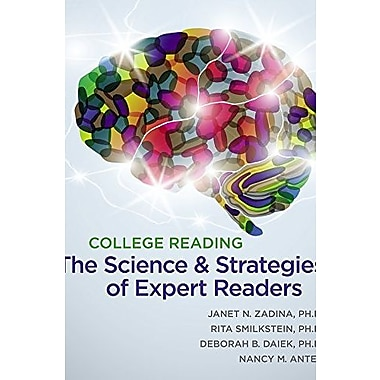 College Reading: The Science and Strategies of Expert Readers, New Book (9781111350017)