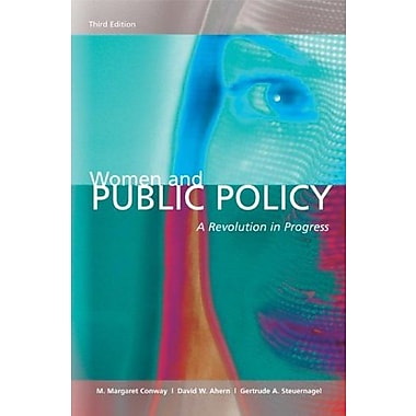 Women and Public Policy: A Revolution In Progress, 3rd Edition, New Book (9781568029269)