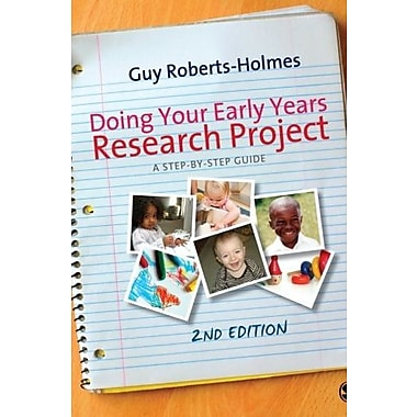 Doing Your Early Years Research Project: A Step by Step Guide, New Book (9781849205207)