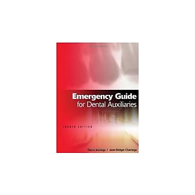 Emergency Guide for Dental Auxiliaries, New Book (9781111138608)
