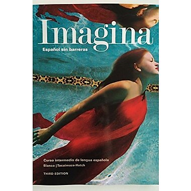Imagina, 3rd Ed, Student Edition with Supersite Access, New Book (9781626801011)