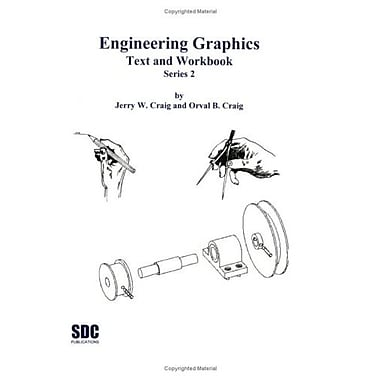 Engineering graphics: Text and Workbook (Series 2), New Book (9781887503884)